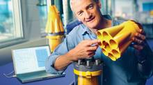 'I have always found that the very moment you're ready to give up, that if you go on a little longer, you end up finding what you're looking for. It's one of life's rewards for perseverance,' James Dyson says.
