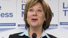 Premier Christy Clark at a joint press conference in Port Moody March 22, 2012. (John Lehmann/The Globe and Mail/John Lehmann/The Globe and Mail)