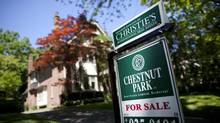 Homes for sale in Toronto's Rosedale area June 13, 2012. (Moe Doiron/Moe Doiron/The Globe and Mail)