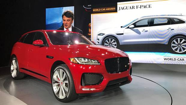 The 2017 World Car of the Year is… the Jaguar F-Pace