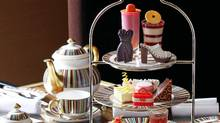 Afternoon Prêt-à-Portea at The Berkeley hotel in London changes its menu to follow the styles of the season.