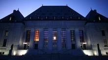 Supreme Court of Canada is seen in Ottawa. (Dave Chan For The Globe and Mail)