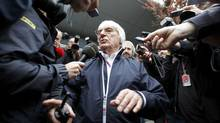 Formula One's commercial rights holder Bernie Ecclestone (CARLOS BARRIA/REUTERS)