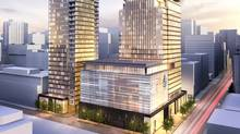 A rendering of Four Seasons Private Residences, Toronto
