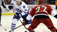 Toronto Maple Leafs' Jay McClement has been a key component of the team's transformation writes David Shoalts. (Gerry Broome/AP)