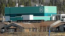 Whitehorse General Hospital, across the Yukon River from the capital's downtown core. (Don Denton/TCPI/The Canadian Press/Don Denton/TCPI/The Canadian Press)