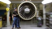 The expansion of the Winnipeg test centre is part of a move by General Electric's aerospace division to boost its operations outside of the United States. (Jim R. Bounds/Bloomberg)