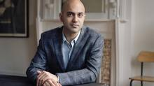 Ayad Akhtar says he didn't expect the degradation of speech 'is something that the audience would be dealing with in their daily life.' (Nina Subin)