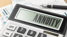 calculator with the word annuity (KUO CHUN HUNG/iStock)