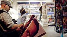 Customers browse at a Chapters/Indigo store. (Sami Siva)
