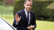 Mark Carney not only played goal for the Oxford Blues hockey team, he also managed it. (Simon Dawson/Bloomberg)