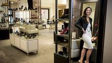 Nordstrom's Karen McKibbin photographed Monday, August 18, 2014, at Nordstrom in downtown Seattle, Wash. McKibbin is responsible for setting up Nordstrom's first store in Canada, set to open on September 19 in Calgary's Chinook Centre. (JORDAN STEAD)