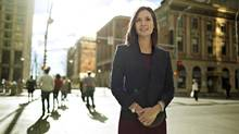 Andrea Wheaton credits both the practical business lessons and so-called 'softer' leadership skills learned in the classroom for fast-tracking her dream career in the real estate industry. (JASON FRANSON for The Globe and Mail)