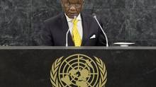Lesotho's Prime Minister Thomas Thabane on August 30, 2014 accused his country's army of staging a coup against him and fled to neighbouring South Africa, which condemned the military's action and called for a peaceful settlement. (POOL/REUTERS)