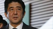 Japan's Prime Minister Shinzo Abe (KIM KYUNG-HOON/REUTERS)