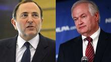 NHL commissioner Gary Bettman and NHLPA executive director Donald Fehr
