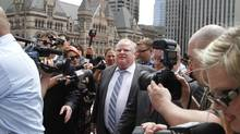Toronto Mayor Rob Ford. (Fernando Morales/The Globe and Mail)