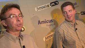Press conference announcing deal between Amicus and Sympatico-Lycos in Toronto on April 18, 2001.