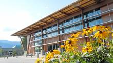 Okanagan College's sustainable trades building. (Okanagan College/Okanagan College)