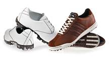 adidas adipure and adicross II golf shoes