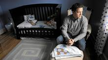 Dr. Benjamin Hoyt in his home near Fredericton, NB, Monday April 9, 2012. (Globe and Mail Photo)