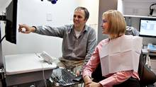 Joel Fransen, a dentist in the Lower Mainland, says the $50,000 threshold could impact his expansion and retirement plans in the future. (Richmond Endodontic Centre)