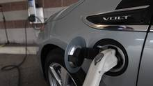 The Volt's development by far predates GM's bankruptcy and, even if it never becomes viable, was a logical technology to pursue for the world's largest car company. (Brandy Baker/Brandy Baker/Associated Press)