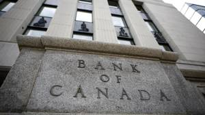 A general view of the Bank of Canada building in Ottawa. The Bank will make an interest rate announcement on Tuesday.