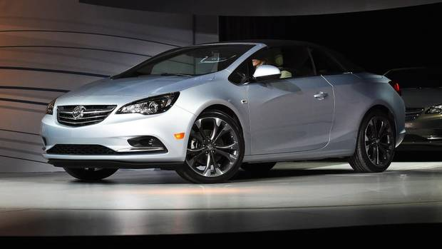 Revealed 2016 Buick Cascada The Globe And Mail