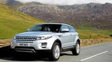 2012 Range Rover Evoque. (Land Rover)