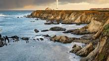 At 35 metres, the Point Arena Lighthouse is the tallest on the U.S. West Coast. (Getty Images)