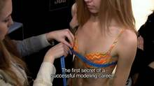 """Screen grab from the online trailer for the documentary """"Girl Model,"""" directed by David Redmon and Ashley Sabin"""