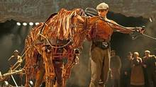 Production image from War Horse at Toronto's Princess of Wales Theatre. (Brinkhoff/Moegenburg)