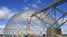 Detour Gold's storage dome at Detour Lake, in northeastern Ontario.