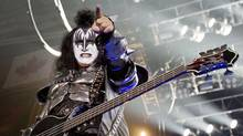 Bassist Gene Simmons performs with KISS at the Air Canada Centre in Toronto, Oct. 2, 2009. (JENNIFER ROBERTS/JENNIFER ROBERTS FOR THE GLOBE AND MAIL)