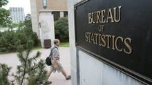 Outside the office of Statistics Canada in Ottawa. (Sean Kilpatrick/THE CANADIAN PRESS)