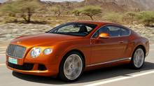 2012 Bentley Continental GT (Bentley)
