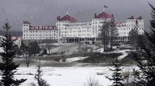New Hampshire's historic Mount Washington Hotel in Bretton Woods, N.H. (Jim Cole/AP)