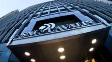 SNC-Lavalin offices in downtown Montreal. A former senior executive of SNC-Lavalin has been charged criminally under Canada's foreign bribery law in connection with alleged bribes to Bangladeshi officials. (Mario Beauregard/The Canadian Press)
