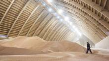 Potash prices in the commodity market are depressed due to excess supply, following OAO Uralkali's dissolution of its partnership with its Belarussian rival. (DAVID STOBBE/REUTERS)