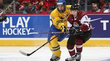 Sweden's Filip Forsberg is one of the top-ranked Europeans heading into the next NHL draft. (Francois Laplante/IIHF/Francois Laplante/IIHF)