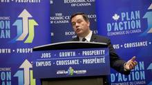 Employment Minister Jason Kenney speaks in Toronto on Oct. 8, 2013. (Deborah Baic/The Globe and Mail)