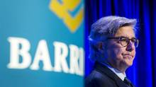Barrick Gold chairman John Thornton looks on during their annual general meeting for shareholders in Toronto, April 28, 2015. (MARK BLINCH/REUTERS)