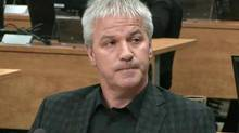 Businessman Martin Carrier testifies at the Charbonneau inquiry looking into corruption in the Quebec construction industry. (Ryan Remiorz/THE CANADIAN PRESS)