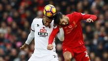 Watford's Etienne Capoue in action with Liverpool's Emre Can during a match on Nov. 6, 2016. (Jason Cairnduff/Reuters)