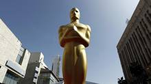 The point of the Oscar-themed sitcoms is to create the impression that everybody is buzzing with Oscar fever. (Matt Sayles/The Associated Press)