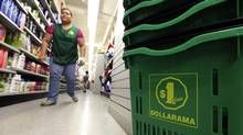 Dollarama's stock is up roughly 40 per cent since the end of 2011. (Deborah Baic/The Globe and Mail)