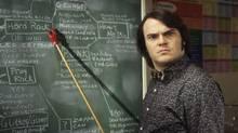 """Jack Black in """"School of Rock,"""" a great classroom movie (Andrew Schwartz)"""