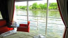 Cabins on river cruises, like on the Panorama, above, are becoming larger, more like upscale hotel rooms. (Barbara Ramsay Orr)
