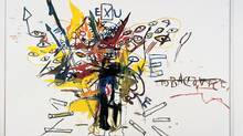 Jean-Michel Basquiat, Exu, 1988, Private Collection© Estate of Jean-Michel Basquiat / SODRAC (2014) (© Estate of Jean-Michel Basquiat / SODRAC (2014) Vol. ll P. 268)
